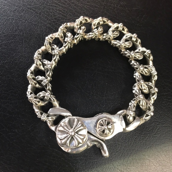 549450aa38a Chrome Hearts fancy link bracelet